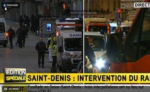 Opération policière en cours à Saint-Denis qui viserait le cerveau des attentats du 13 novembre, Abdelhamid Abaaoud.