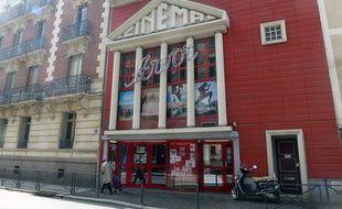 L'actuel cinéma d'art et d'essai L'Arvor, installé rue d'Antrain à Rennes.