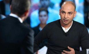 Abdelghani Merah lors du Grand Journal de Canal+ le 13 novembre 2012 à Paris