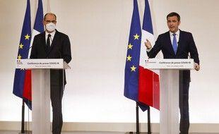 Jean Castex et Olivier Véran annoncent les dernières mesures pour lutter contre la 2e vague de coronavirus en France.