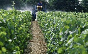 Une machine agricole (illustration).