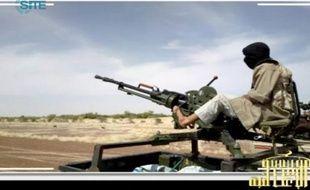 Un djihadiste d'Al-Qaïda au Maghreb Islamique (Aqmi).