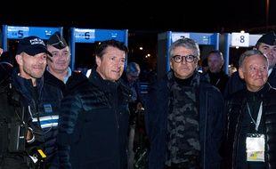Le préfet des Alpes-Maritimes Bernard Gonzalez, ici aux côtés de Christian Estrosi, le 15 février 2020 au Carnaval de Nice