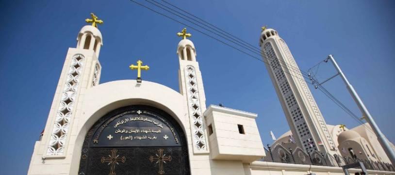 Une église de la ville égyptienne de Minya