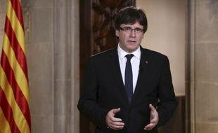 Le président catalan Carles Puigdemont