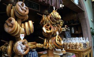Des bretzels à Strasbourg. (Illustration)