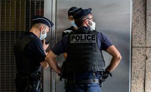 Des policiers toulousains en surveillance. Illustration.