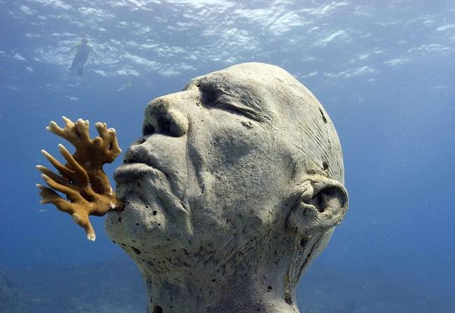 Une statue de Jason deCaires Taylor.