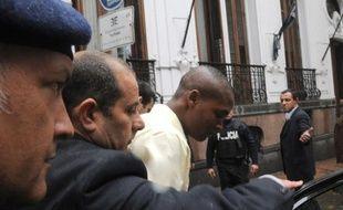 Un jeune Haïtien qui a accusé des Casques bleus uruguayens de l'avoir violé l'année dernière a été entendu jeudi par un juge à Montevideo