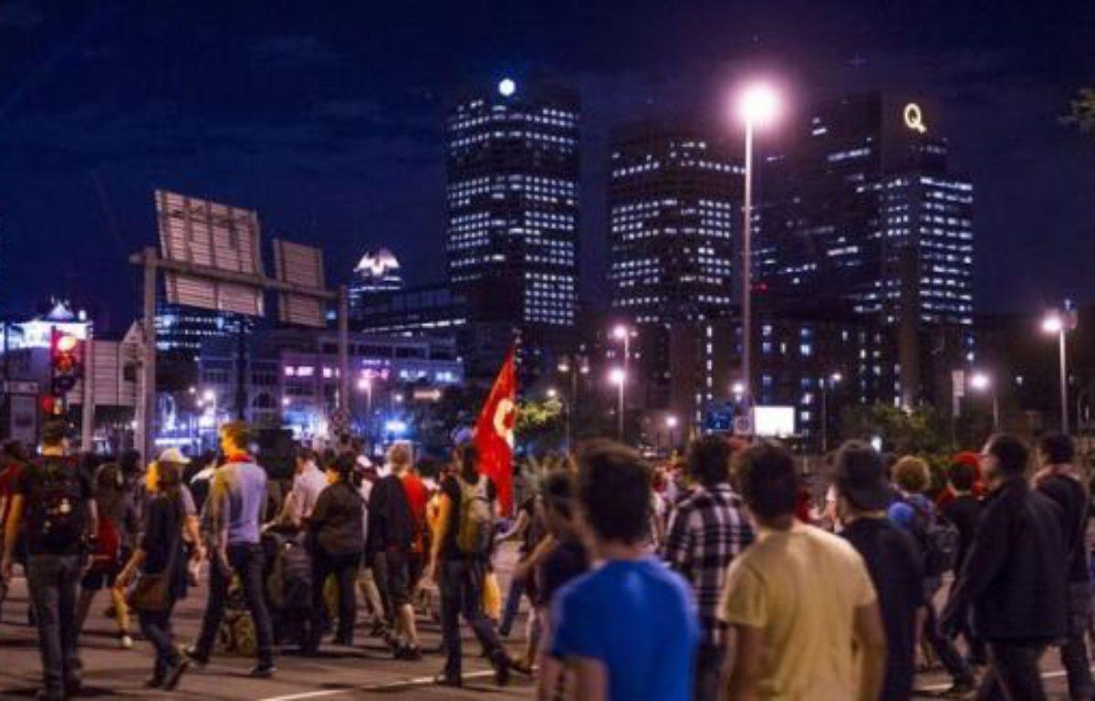 Les négociations entre le gouvernement et les étudiants québécois pour trouver une issue au conflit sur les droits de scolarité ont été rompues jeudi à Québec. – Rogerio Barbosa afp.com