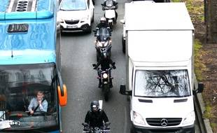 L'expérimentation d'une circulation des motards en interfiles a été lancée en Gironde il y a deux ans.