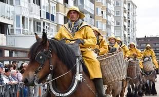 Les pêcheurs à cheval font la fierté des habitants d'Oostduinkerke et représentent une attraction de taille pour les touristes.