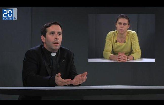 L'abbé Grosjean répond aux questions de Anne Susset