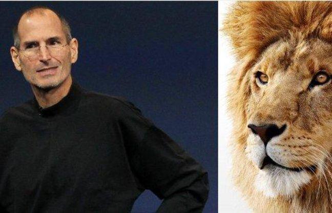 Steve Jobs présente Mac OS X Lion, le 20 octobre 2010