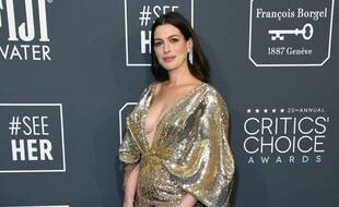 L'actrice Anne Hathaway