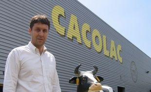 Christian Maviel est le directeur de la PME Cacolac, installée à Léognan, en Gironde.