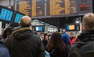 Gare Saint-Lazare à Paris (image d'illustration).