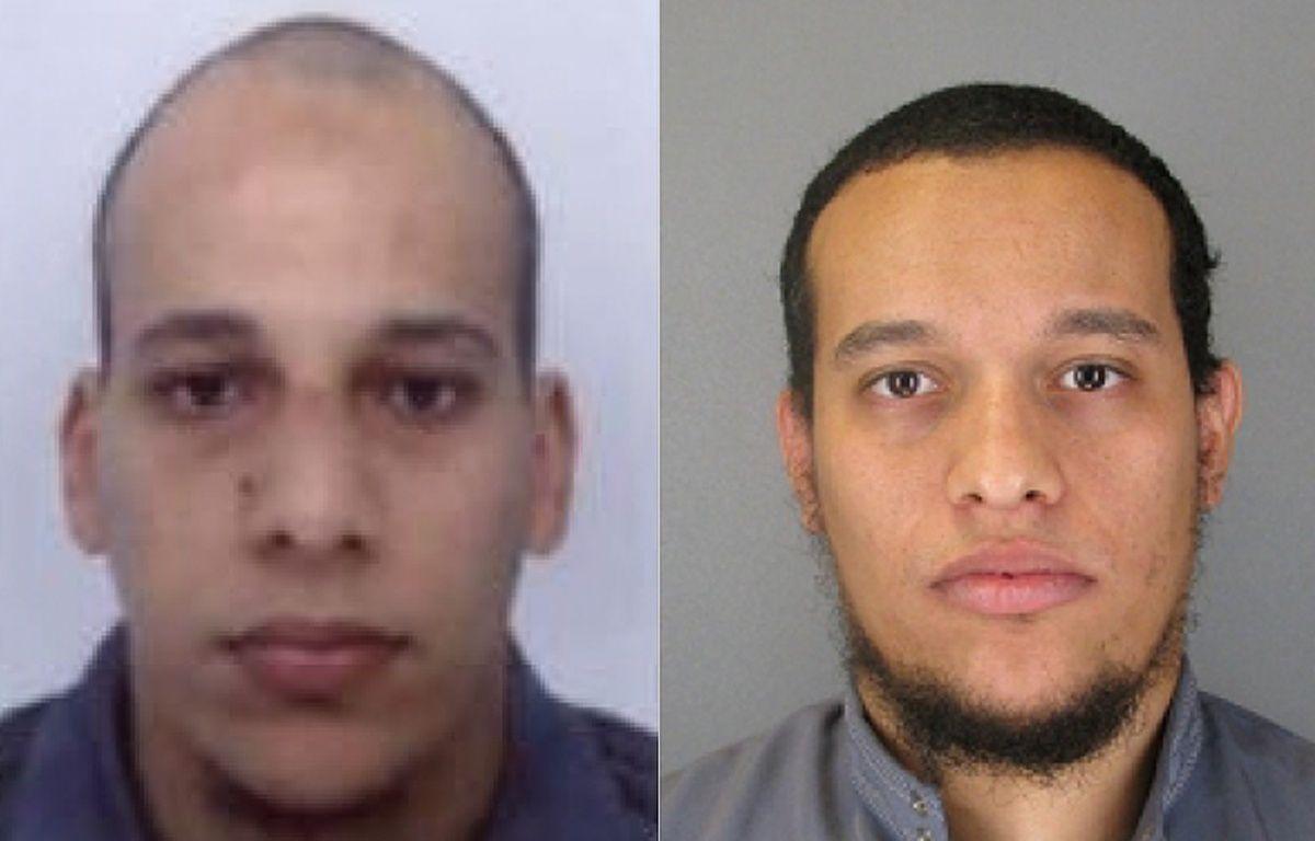 Les frères Saïd et Chérif Kouachi, recherchés par la police pour l'attaque terroriste contre «Charlie Hebdo». – AFP/POLICE