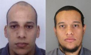 Les frères Saïd et Chérif Kouachi, recherchés par la police pour l'attaque terroriste contre «Charlie Hebdo».