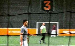 Hatem Ben Arfa lors d'un match d'urban foot en février dernier