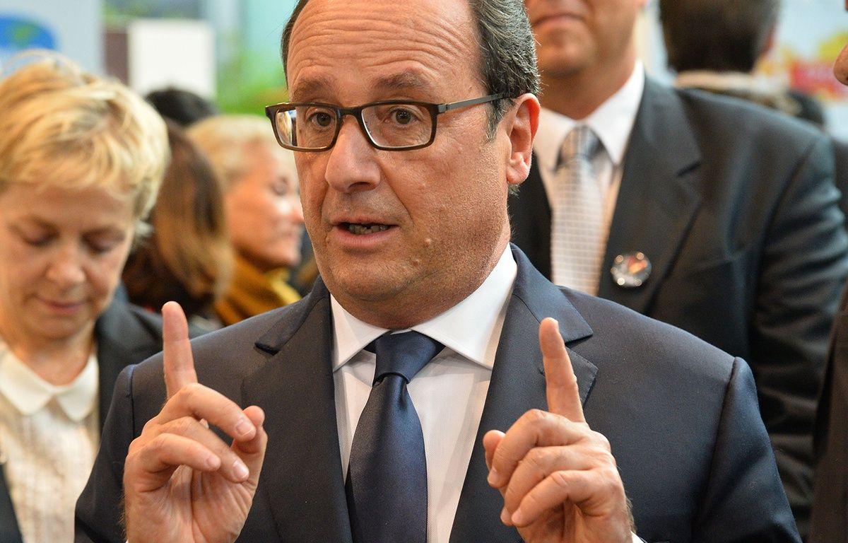François Hollande au Salon de l'agriculture en 2014 (archive). – LIEWIG-POOL/SIPA