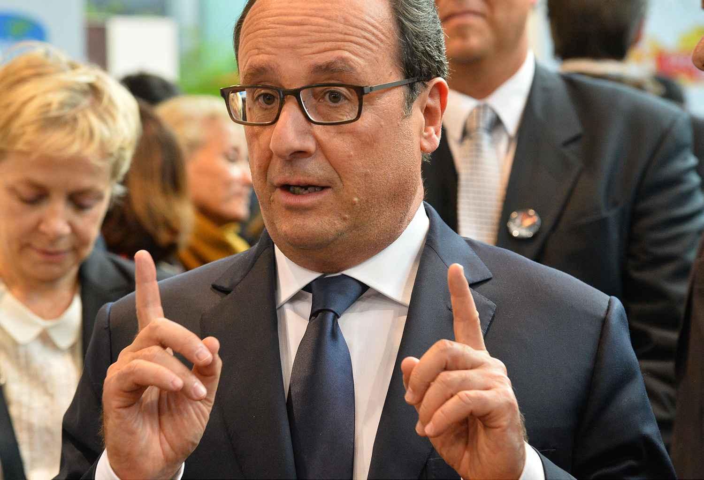 Video salon de l 39 agriculture fran ois hollande hu et for Hollande salon agriculture