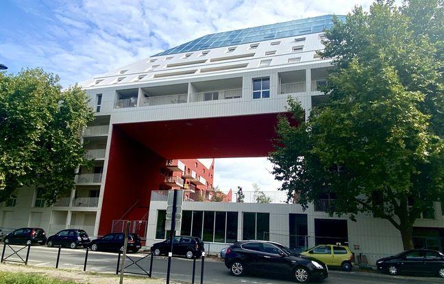 A la pointe de l'immeuble Ilot Queyries, au neuvième étage, s'installera un restaurant.