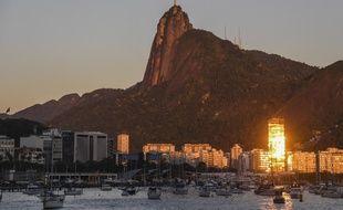 La ville de Rio de Janeiro, dominée par la statue du Christ Rédempteur (image d'illustration).