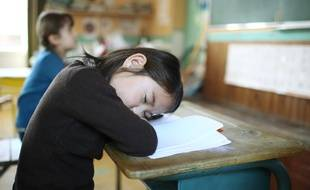 Une écolière. Image d'illustration.