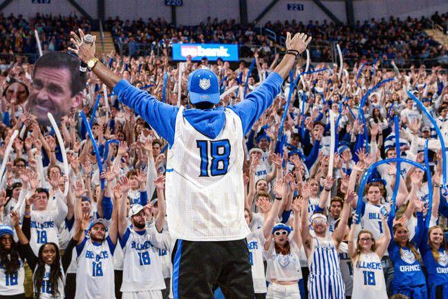 Un match de NCAA à Saint Louis en novembre 2019.