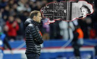 Thomas Einstein Tuchel fait ses calculs sur la dernière journée de Ligue des champions.