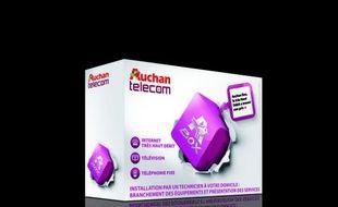 Auchan se lance sur le marché des fournisseurs d'accès à internet.