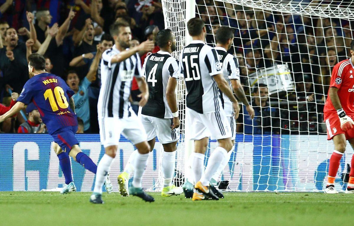 Lionel Messi marque face à la Juventus – SIPA