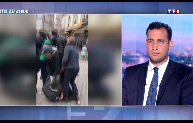 Alexandra Benalla interrogé vendredi 27 juillet 2018 sur le plateau de TF1 sur les violences du 1er-Mai.