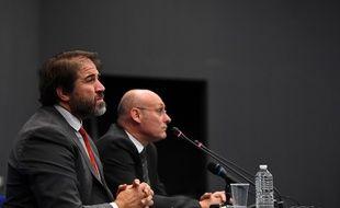 Bernard Laporte-Serge Simon, le duo à la tête du rugby français.