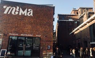 Le musée Mima installé le long du canal à Molenbeek a connu un soutien important à son ouverture en avril 2016.