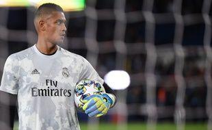 Alphonse Aréola était de retour au Parc sous le maillot du Real Madrid.