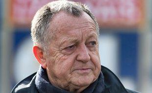 Jean-Michel Aulas, le 14 février dernier.