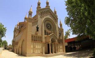 La cathédrale Saint-Matthieu le 15 mai 2014 à Khartoum