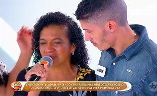 Adrien a retrouvé sa mère grâce à une émission brésilienne