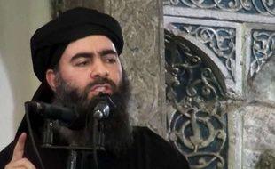 Abuu Bakr al-Baghdadi dans une vidéo diffusée le 5 juillet 2014.