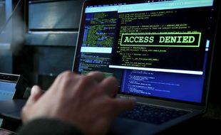 Un ransomware est un logiciel utilisé par des hackers pour paralyser un ordinateur et demander une rançon à la victime (illustration).