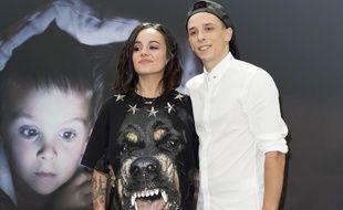 Grégoire Lyonnet et son épouse la chanteuse Alizée, le 14 juin 2015.
