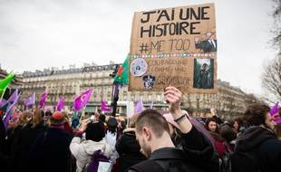 Manifestation le 8 mars 2018 à Paris