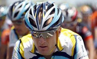 Levi Leipheimer le 8 juillet 2009 sur le Tour de France.