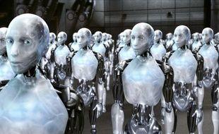 Des robots du film «I, robot»