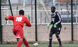 Le gardien de but Stanislas Lebongo.