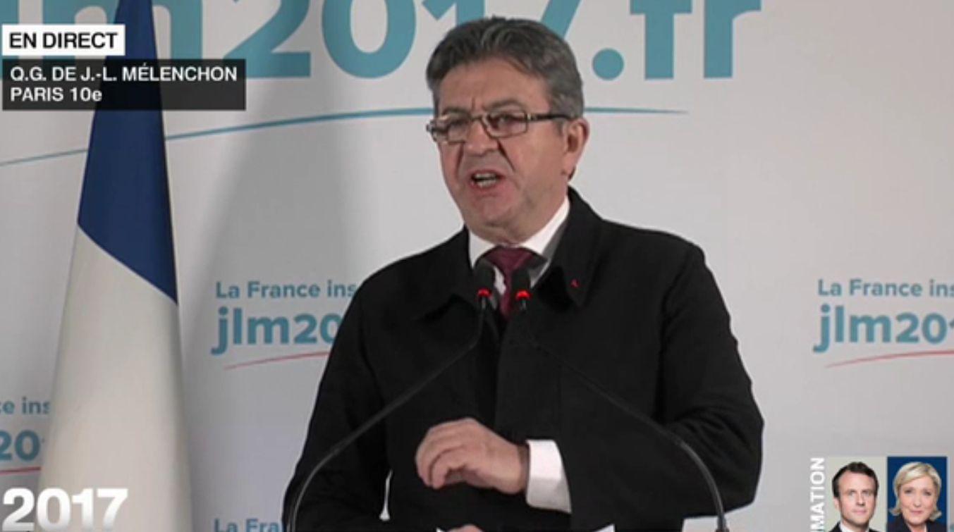 Présidentielle 2017: le candidat de la jeunesse a été Jean-Luc Mélenchon