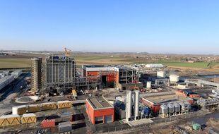 La centrale de Bouchain, dans le Nord.