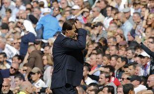 L'avenir de Julen Lopetegui à la tête du Real Madrid ne tient plus qu'à u fil après la défaite à domicile contre Levante, le 20 octobre 2018.